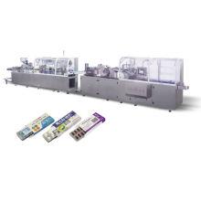 Linha de produção automática para embalagens farmacêuticas