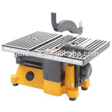 Scie à table portative 100 mm Scie à banc multi-tâches électrique multi-tâches