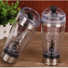 Stainless Steel Shaker Bottle Vortex Mixer Bottle with Rechargeable Battery USB