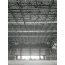 Estructura de marco de espacio de acero de gran envergadura utilizada para almacenamiento industrial