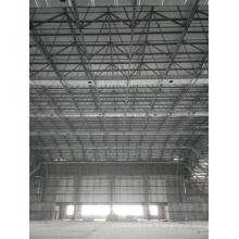 Grande structure en acier de cadre d'espace d'envergure utilisée pour le stockage industriel