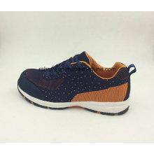 Deportes estilo nuevo diseñado tela Flyknit seguridad trabajo zapatos (16039)