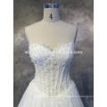 2016 neue Art und Weise reales Foto sleeveless Brautkleider