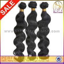 Extensiones de cabello bohemio Virgen de onda de cuerpo venta por mayor
