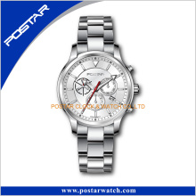 Chronograph Subdial Surgical Stainless Steel Wrist Watch