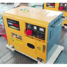 Générateur électrique silencieux à la maison portatif de 5kw