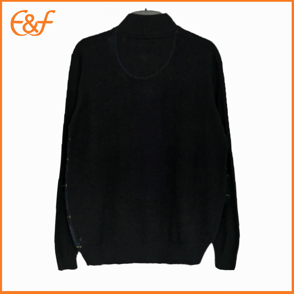 Half Zipper Turtleneck Sweater