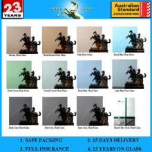 Preço de vidro de 12mm com AS / NZS2208: 1996