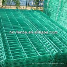 Panneaux soudés enduits de barrière de fil de PVC de vente chaude pour le jardin