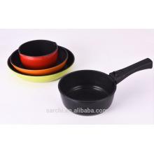 Juego de utensilios de cocina de cerámica de cerámica de aluminio