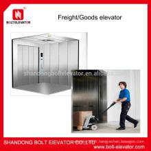 2500kg ascenseur élévateur de marchandises ascenseur
