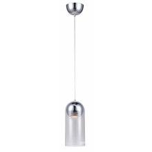 Modern Minimalist Style Glass Shade Pendant Lamp (MD4235-CHT)