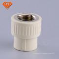 tubo de encaixe de plástico reduzindo o acoplador