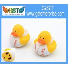Pull Back Baseball Imprinted Ducks