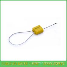 Sceau de sécurité (JY1.5TS), joint métallique en plastique