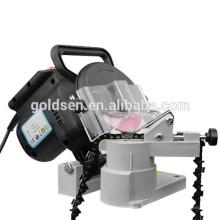 Hot Sales Economia GS CE EMC ROHS 100mm 220W Base Plástica Serra De Cadeia Sharpeners Grinder