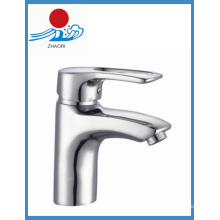 Robinet de mélangeur de robinet de lavabo de salle de bain à eau chaude et froide (ZR21102)