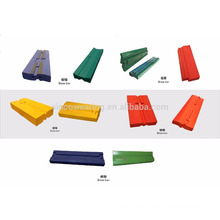 Chrome Martensitic Manganese Ceramic blow bar blow bar impact crusher sapre parts