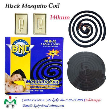 High Quality Cheap Price Plant Fiber Mosquito Coil Black Mosquito Coil