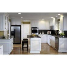 U Shaped Solid Wooden Kitchen