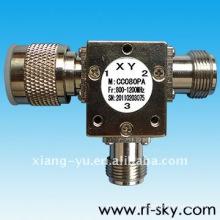 Circulador coaxial do isolador da montagem da superfície do Rf da freqüência de 150W 2500-2700 megahertz