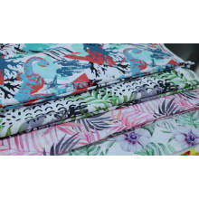 Floral chiffon 100% polyester printed fabric