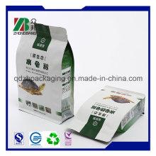 High Quality 8 Side Sealed Flat Bottom Packaging Bag