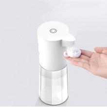 smart plastic hand free foam soap dispenser sponge automatic contactless soap dispenser automatic soap foam dispenser