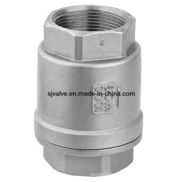 Aço inoxidável 2PC Threaded válvula (válvula)