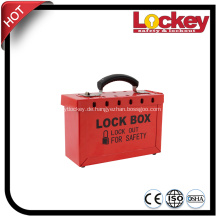 Protable Steel Lockout Kit und Group Lockout Box