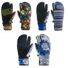 Winter Warmly Waterproof Adult Ski Gloves Snowbord Gloves