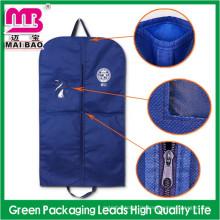 Maßgeschneiderte Verpackung Tasche für Männer Anzüge Versorgung Non Woven Cotton Garment Cover Suit Bag