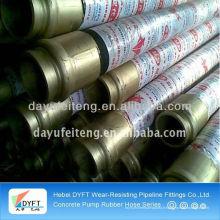 DN125 putzmeister flexible rubber hose pipe