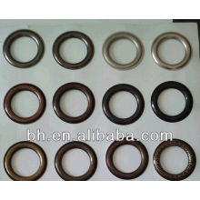 nickel matte brass eyelets