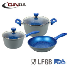 Korea Marble Coated Cookware