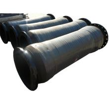 Ölsaug- und Druckschlauch mit Flanschen
