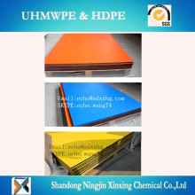 Sandwich 3 layer HDPE double color plastic sheet and board