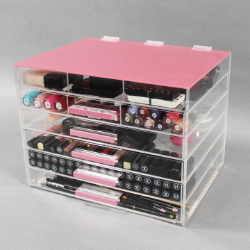 Beste helder acryl make-up organizer