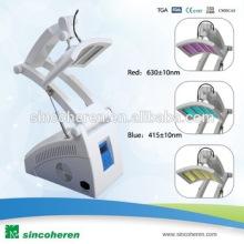 PDT Maschine 3 Farbe Rot Blau Gelb Licht für verschiedene Hautbehandlung