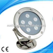 IP68 RGB Высокая мощность светодиодный подводный 18W круглый подводный свет LED POOL огни
