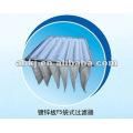 Карманный Воздушный фильтр для вентиляционной установке ( агрегате)