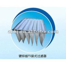Filtro de aire de bolsillo para AHU (unidad de tratamiento de aire)