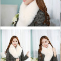 Woman Fashion Luxury Real Finland Chunky Fox Fur Long Scarf