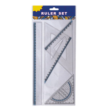 Dark Blue Frame Ruler Set