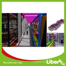 Trampoline à bungee à usage professionnel ASTM avec dodgeball pour enfants