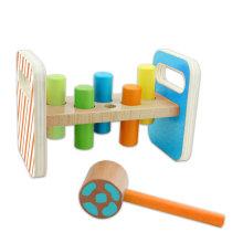Jouet en bois perforé pour bébés et enfants