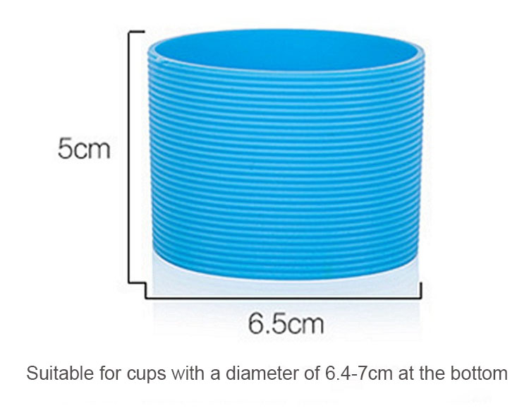 silicone cup sleeve