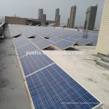 Planta de energía solar latas de techo plano solar montaje 250KW de energía solar