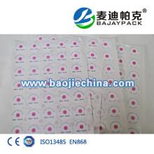 Etiqueta indicadora de esterilización ETO