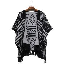 2016 Winter neue Frauen Mode Acryl gewebt Jacquard Schal (YKY4503)